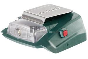 Metabo PA 14,4-18 LED-USB adapter és lámpa