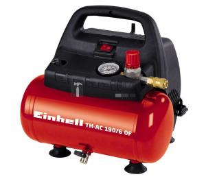 Einhell TH-AC 190/6 OF olajmentes hordozható kompresszor 1,1kW, 6l, 8bar