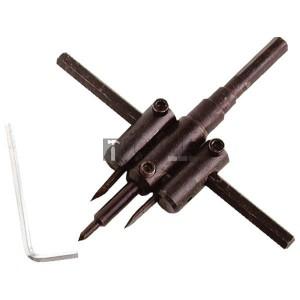 Extol Craft körkivágó gipszkartonhoz, 2db 30-120mm