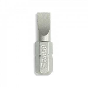 Dedra csavarhúzó bitek lapos SL, 25mm, 3db/cs
