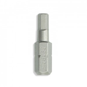 Dedra csavarhúzó bitek Hex, 25mm, 3db/cs