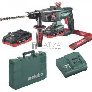 Metabo KHA 18 LTX SDS-Plus akkus kombikalapács (2 x LiHD 3,1 Ah)