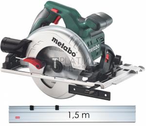 Metabo KS 55 FS körfűrész (1200W 160mm) + vezetősín 1,5m