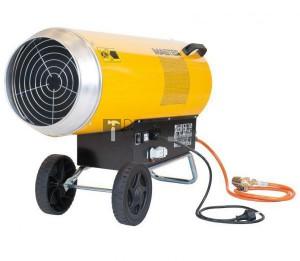 Master BLP103 ET PB gázos hőlégfúvó (103kW) + szállítókocsi