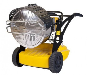 Master XL9SR gázolajos infravörös hősugárzó (43 kW)