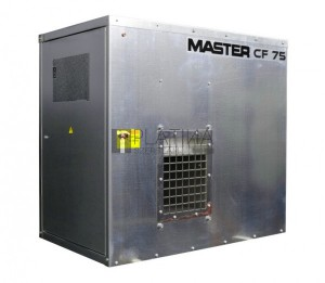 Master CF 75 Spark földgáz üzemű fűtőberendezés (horganyzott)