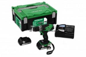 Hitachi DS18DSL akkus fúró- csavarbehajtó (2 x 5.0Ah) + Hitbox