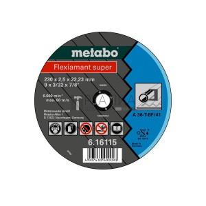 Metabo Flexiamant Super vágókorongok acélra (A 36-T)