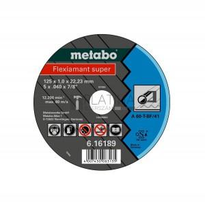 Metabo Flexiamant Super vágókorongok acélra ( A 60-T / A 46-T)