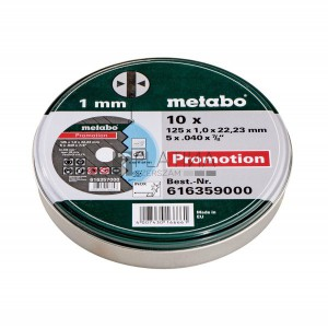 Metabo 10 darabos Promotion vágókorongok Inoxra (A 60-R)