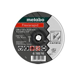 Metabo Flexiarapid vágókorongok alumíniumra (A 24-P)