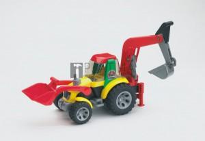 Bruder Roadmax markolós kotrógép tolólappal (20105)