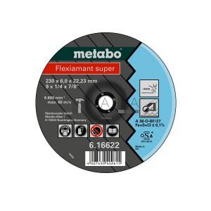 Metabo Flexiamant Super csiszolókorongok Inoxra (A 36-O)