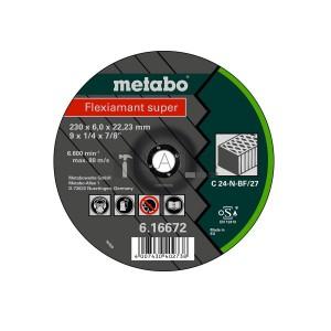 Metabo Flexiamant Super csiszolókorongok kőre (C 24-N)