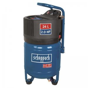 Scheppach HC 24 V olajmentes álló kompresszor (1,5kW, 24l, 10bar)