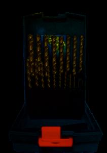 Abraboro HSS-GS MULTI SPEED fémcsigafúró készlet műanyag dobozban