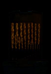 Abraboro HSS-CO fémcsigafúró készlet DIN 338, 19 részes