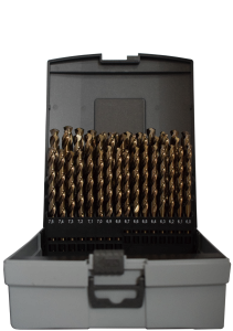 Abraboro HSS-CO fémcsigafúró készlet DIN 338, 41 részes