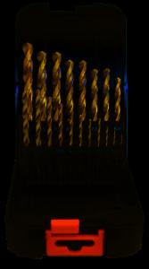 Abraboro HSS-CO SPEED fémcsigafúró készlet DIN 338, 19 részes