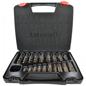 Abraboro HSS-CO SPEED fémcsigafúró készlet DIN 338, 170 részes