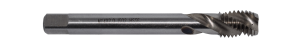 Abraboro HSS-G gépi menetfúró , C35 csavart hornyú, DIN376