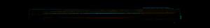 Abraboro HSS-CO gépi menetfúró MF DIN374, egyenes hornyú