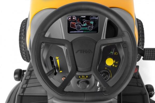 Stiga Tornado 7108 HWSY oldalkidobós fűnyírótraktor Honda motorral 108cm 688cm³