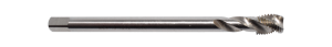 Abraboro HSS-CO gépi menetfúró MF DIN374, C35 csavart hornyú