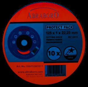 Abraboro  CHILI blue edition fémvágó korong, inox, 10db-os