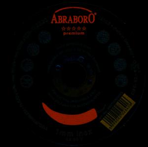 Abraboro CHILI PREMIUM fémvágó korong, inox
