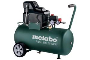 Metabo Basic 280-50 W OF olajmentes kompresszor 50l, 1,7kW, 8bar