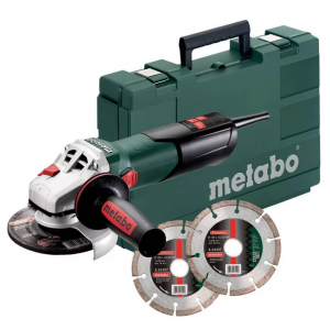 Metabo W 9-125 Quick sarokcsiszoló készlet 900W 125mm