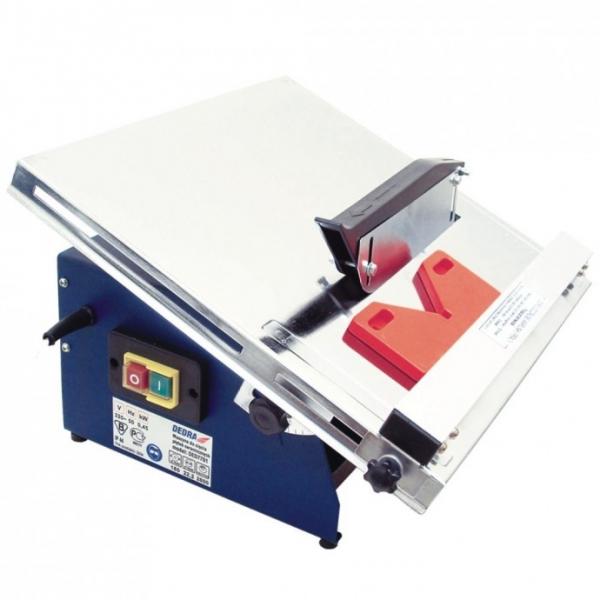 Dedra burkolólap vágó 450W, 180mm, 0,45kW, asztalméret 390x385mm