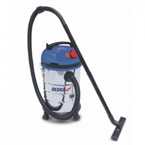 Dedra vízszűrős porszívó 1400W, HEPA filter, 30l tartály, 1,5m tömlő