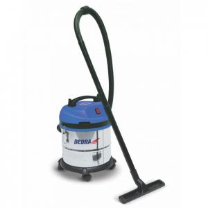 Dedra vízszűrős porszívó 1200W, HEPA filter, 20l tartály, 1,5m tömlő