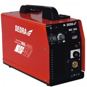 Dedra inverteres hegesztőgép 160A MIG/MAG MMA funkcióval IGBT