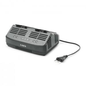 Stiga C215D standard dupla akkumulátor töltő 20V