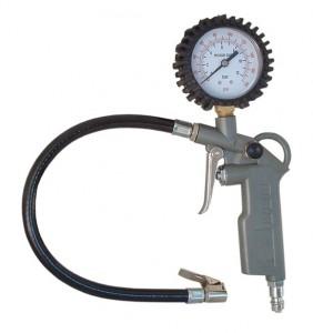 Pansam levegőfújó pisztoly, nyomásmérővel