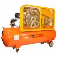 Bisonte SW102-170 ékszíjmeghajtású olajkenésű kompresszor (400V)