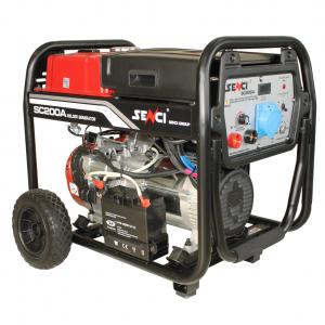 SENCI SC-200A 230V hegesztő-áramfejlesztő