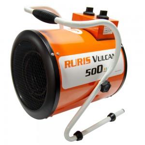 Ruris Vulcano 500 elektromos hőlégfúvó 5kW, 411 m3/h