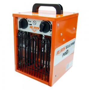 Ruris Vulcano 200 elektromos hőlégfúvó 2kW, 260 m3/h