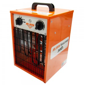 Ruris Vulcano 300 elektromos hőlégfúvó 3kW, 514 m3/h