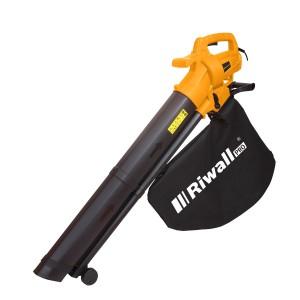 Riwall PRO REBV 3200 E elektromos lombszívó/lombfúvó 3,2kW