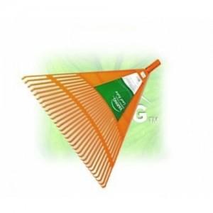 Varing 30 fogú ipari műanyag lombseprű keményfa nyéllel