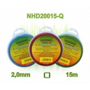 Varing fűnyíró damil Dispenser 2,0mm, 15m, négyzet profil