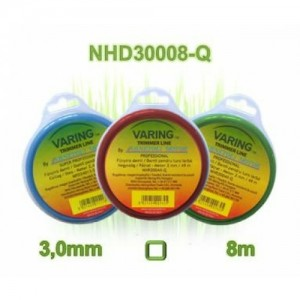 Varing fűnyíró damil Dispenser 3,0mm 8m négyzet profil