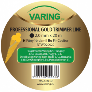 Varing fűnyíró damil Dispenser GOLD, csavart profil