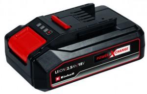 Einhell akkumulátor 18V, 2,5Ah Power X-Change