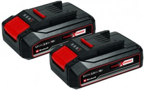 Einhell 2 db akkumulátor 2x 18V, 2,5Ah PXC-Twinpack